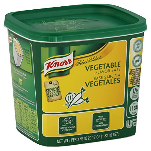 Knorr Professional Select Vegetable Stock Base Vegetarian, Gluten Free, No added MSG, 1.82 lbs, Pack of 6 ()