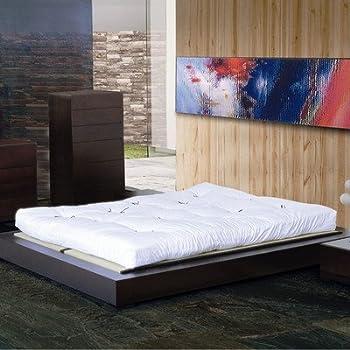 Amazon Com Zen Platform Bed Size Queen Kitchen Amp Dining