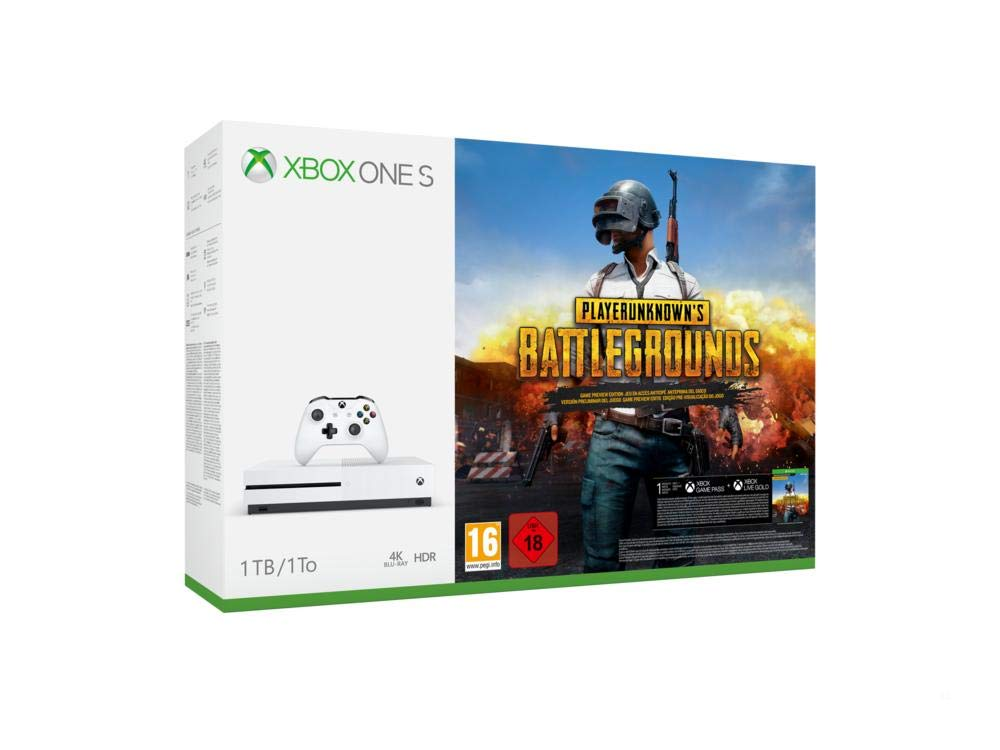 Xbox One S 1TB Console - PLAYERUNKNOWN'S BATTLEGROUNDS Bundle (New)