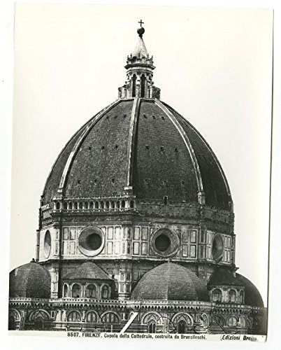 Florence Cathedral - Vintage 8x10 Publication Photograph - Florence, - Florence Photographs