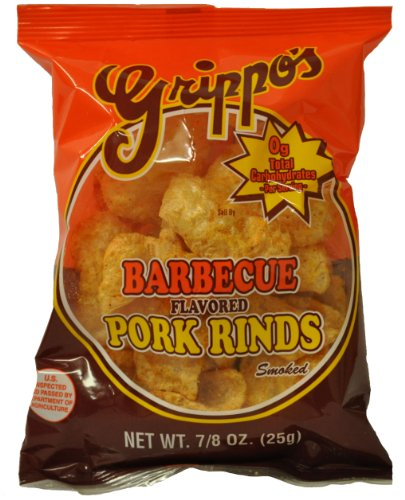 Grippo's BBQ Pork Rinds (30 - 7/8oz Bags) (Bbq Pork Rinds)