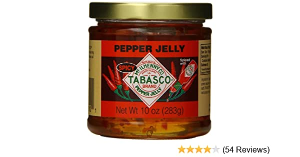 Amazon.com : TABASCO JELLY PEPPER SPICY (3 Pack) : Grocery & Gourmet Food