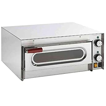 Macfrin 5101 Horno Eléctrico para 1 Pizza: Amazon.es: Industria ...