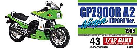 Aoshima 1/12 Vélo N ° 43 Kawasaki Gpz900r Ninja A2 Modèle ...