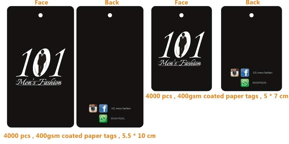 07b2c0088a16 Amazon.com: Lysee 6000pcs Custom Grade A 400gsm Matte Black Coated ...