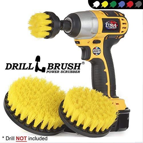 Cleaning Supplies – Drill Brush – Bathroom Accessories – Shower Curtain – Bath Mat – Scrub Brush – Bathtub – Sink…