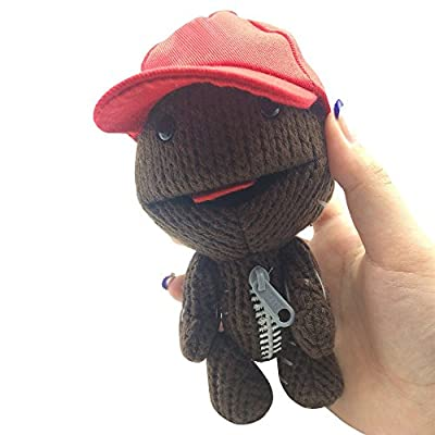 "Wingkids Originals Wool Toy Little Big Planet Sackboy 6"" by Maggie Z."