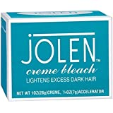 Jolen Creme Bleach Lightens Dark Hair Made In USA With Ayur Product In Combo