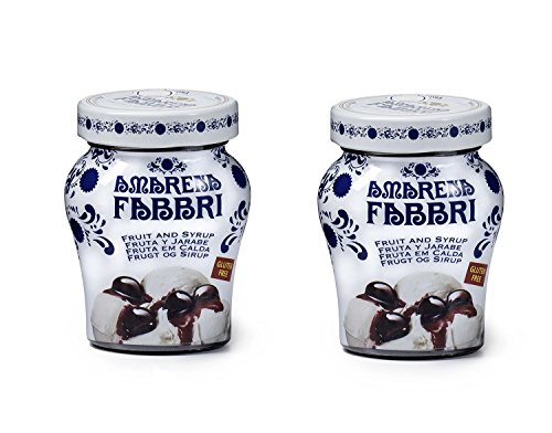 Fabbri Amarena Cherries In Syrup, 8.1 Ounce (Pack of 2) (The Best Pineapple Upside Down Cake Recipe Ever)