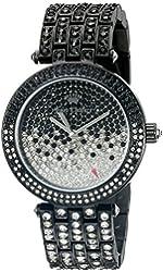 Juicy Couture Women's 1901326 Analog Display Quartz Black Watch