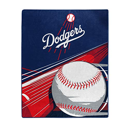 MLB Big Stick Raschel Throw Blanket, Bedding, Soft & Cozy, Washable, 50