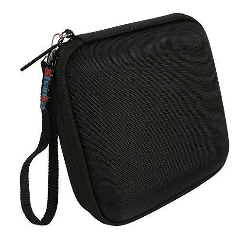 Khanka Hardshell EVA Storage Carrying Travel Case Bag for Logitech UE Roll 360 Wireless Bluetooth Speaker - Black