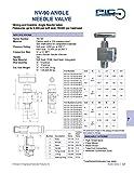 PIC Gauge NV-CS-1/4-GS-90-FXF Carbon Steel