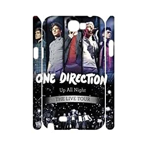 wugdiy New Fashion Hard Back Cover 3D Case for Samsung Galaxy Note 2 N7100 with New Printed One Direction