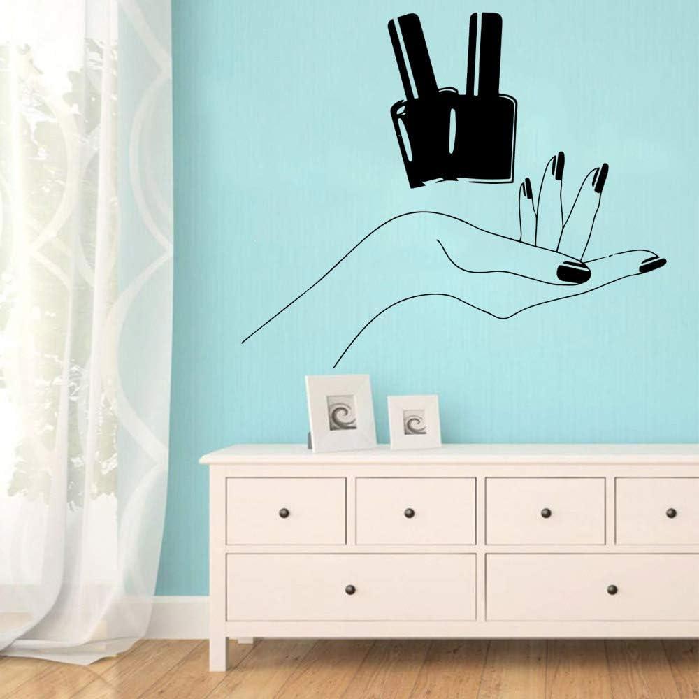 Dibujos animados salón de uñas Decoración para el hogar de vinilo ...