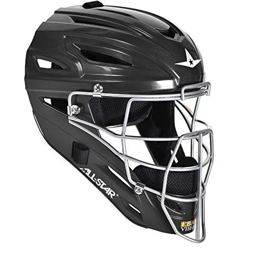 All-Star System Seven Youth Catcher's Helmet MVP2510 (Black)