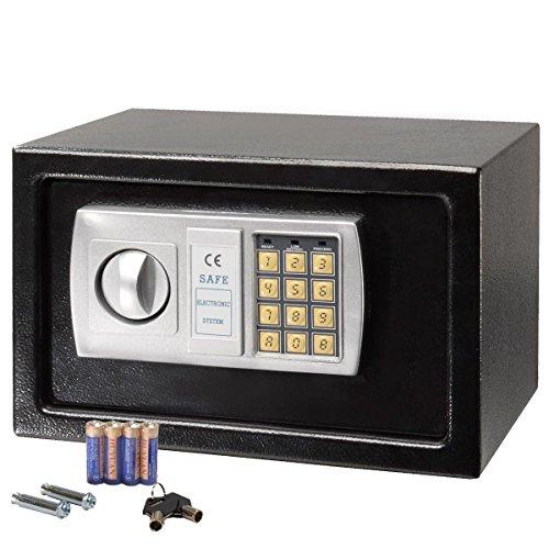 winixson 12 5 electronic digital lock keypad safe box. Black Bedroom Furniture Sets. Home Design Ideas