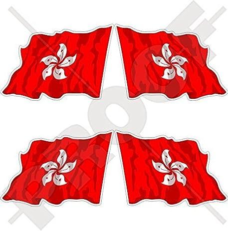 Amazoncom HONG KONG Flying Flag China ASIA HK Chinese Mm - Custom vinyl stickers hong kong