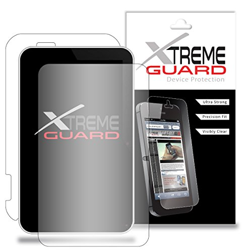 Premium XtremeGuardTM Full Body Screen Protector Front and Back for Vivitar Sakar XO 7