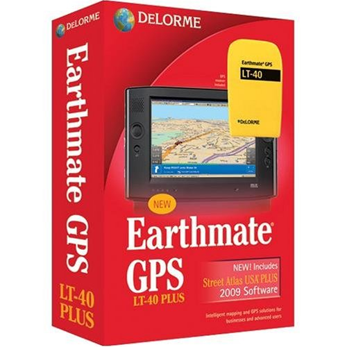DeLorme Earthmate GPS LT-40 Plus [Old Version] Earthmate Gps Receiver