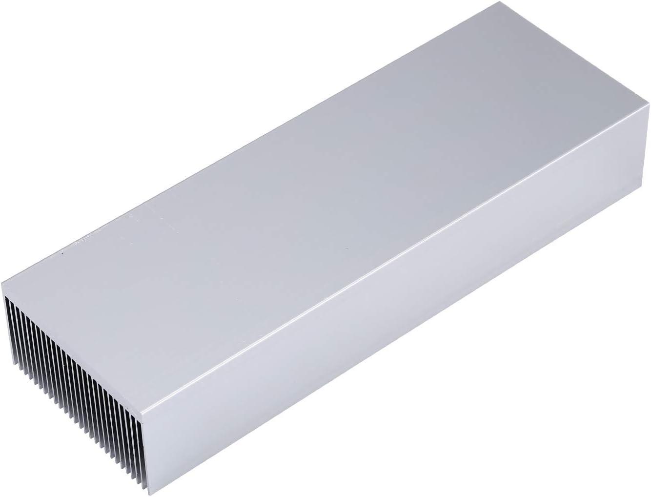 PC Computer PCB Awxlumv Large Aluminum Heatsink 15.75 x2.71 x 1.41 // 400 x 69 x 36mm Heat Sinks Cooling 27 Fin Radiator for IC Module Led