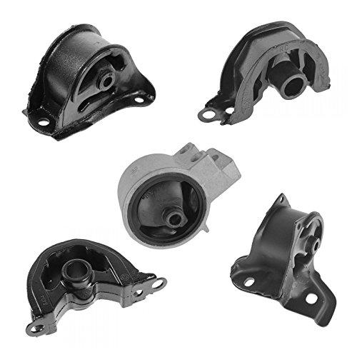 Engine & Manual Transmission Mount Kit Set of 5 for 94-01 Acura Integra L4 1.8L