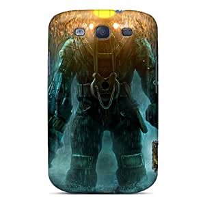 Galaxy S3 Hard Back With Bumper Silicone Gel Tpu Case Cover Delta