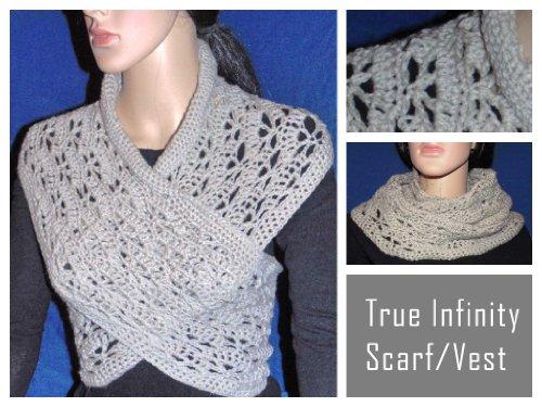 Moebius Scarf (True Infinity Scarf/Vest/Cowl Crochet)