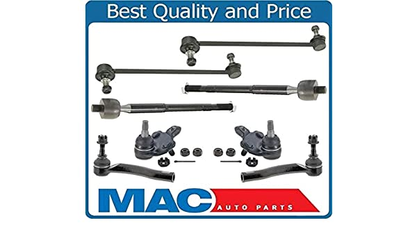 Control Arms Inner Outer Tie Rod Ends Stabilizer Links For 04-09 Toyota Prius