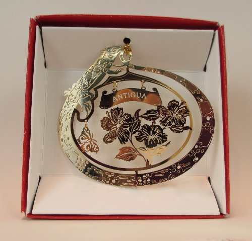 Antigua Christmas ORNAMENT Caribbean Island West Indies Travel Gift - Indie Gifts