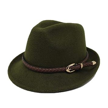 AOKIGN Sombrero De Fieltro Sombrero De Vaquero Gorra Chapeau ...