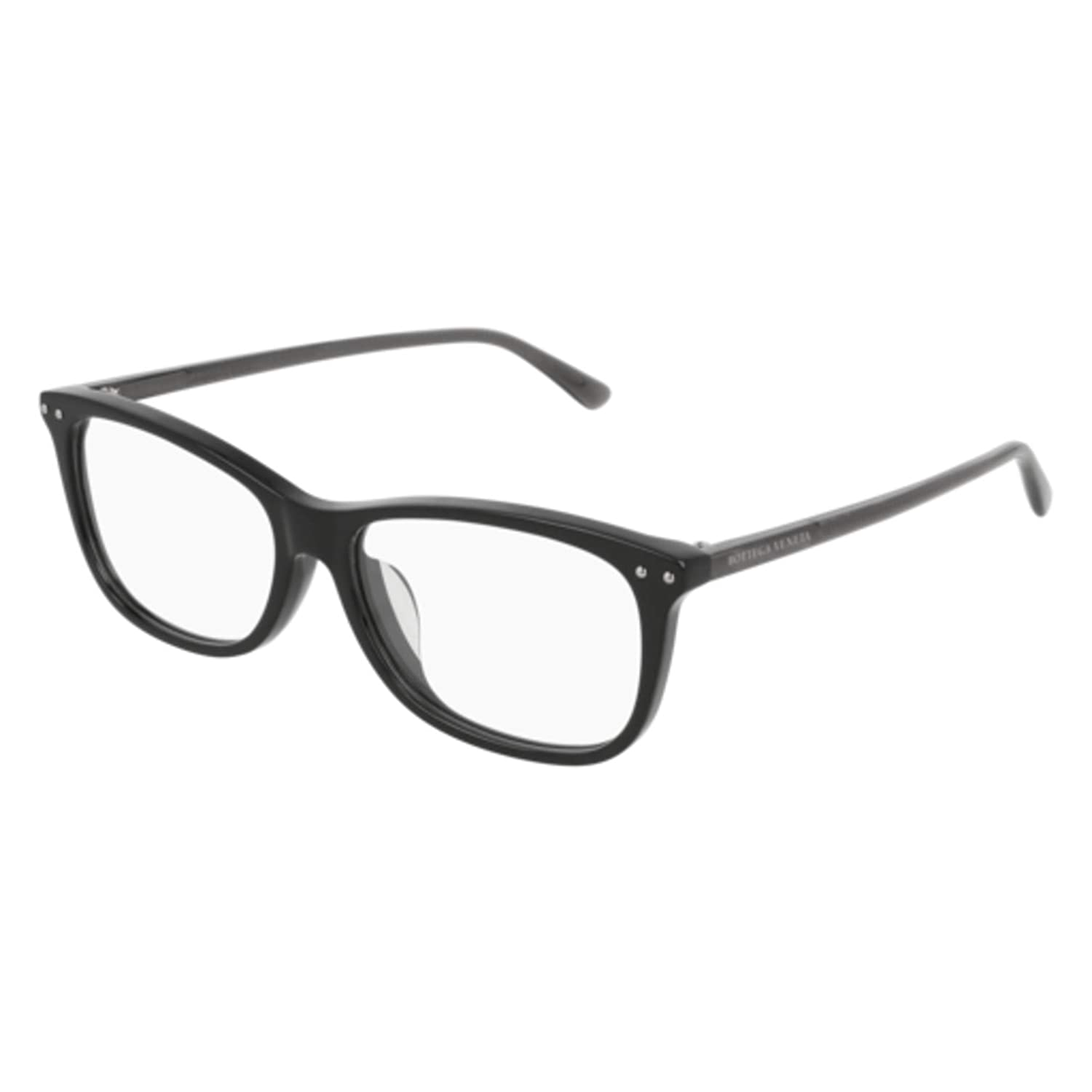 Eyeglasses Bottega Veneta BV 0164 OA 001 BLACK//GREY