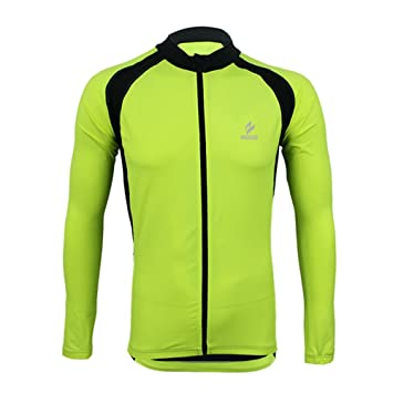213a9d98b ARSUXEO Quick Dry Men Cycling Shirts Jersey Long Sleeve Spring Autumn  Bicycle Bike Coat