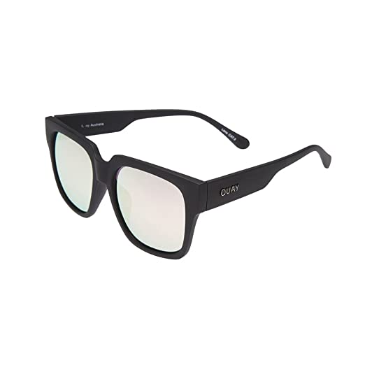 67b63f97b9 Quay Australia 55mm On The Prowl Square Sunglasses in Black Pink (Black