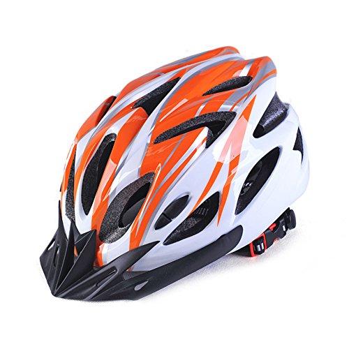 EDTara - Casco de ciclismo para bicicleta de montaña, protección de seguridad integrada, transpirable, casco de ciclismo...