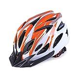 Casco de bicicleta ultraligero, casco de ciclismo transpirable moldeado para hombre y mujer