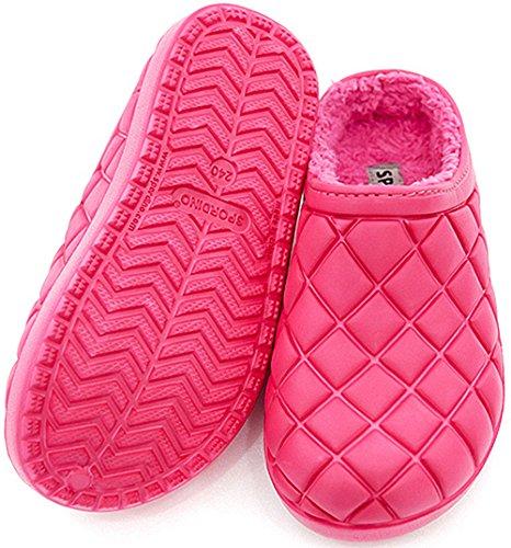 Slip On Indoor Comfort Deeppink Clog Outdoor SPORDINO Unisex House Slippers RwIxqt5E