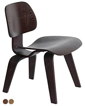 Delicieux MLF Reproduction Eames Molded Plywood Lounge Chair (Dark Walnut)