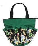 10 Pocket Lucky Charms Green Zipper Bingo Bag