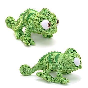 Oficial Disney Tangled Rapunzel Pascal el camaleón Mini suave peluche de juguete