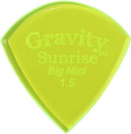 Polished Gravity Picks Sunrise 2 Millimeter Mini Size