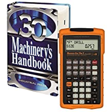 Machinery's Handbook 30th. Edition, Large Print, & Calc Pro 2 Combo