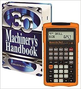 Machinery's Handbook, Toolbox & Calc Pro 2 Combo: Amazon co uk: Erik