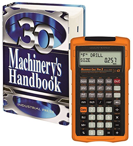 Machinery's Handbook,Toolbox & Calc Pro 2 Combo