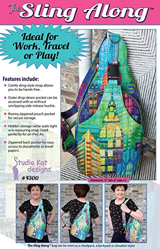 Studio Kat Designs SKD4300 The The Sling Along Pattern (Sling Sewing Pattern)