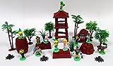 zelda figures - Zelda and Friends 25 Piece Play Set Featuring Zelda Figures and Themed Accessories