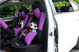 20pcs/SET new 2016 luxury cartoon Seat Covers for cars Front & Back car covers four seasons Universal car seat cover car interior Purple & black V5602
