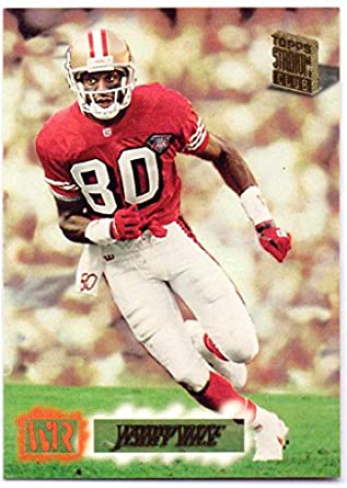 finest selection 4dea9 671c4 Jerry Rice 1994 Stadium Club #550 - San Francisco 49ers at ...