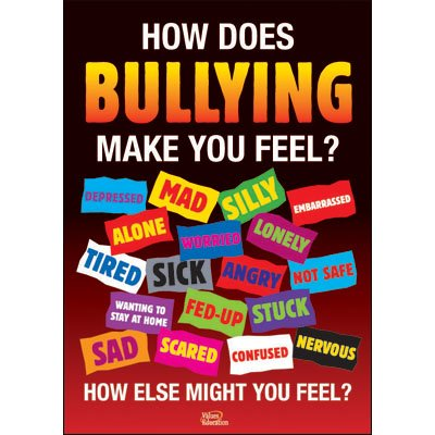 Amazon.com: Didax Educational Resources Bullying Posters (Set of 4 ...