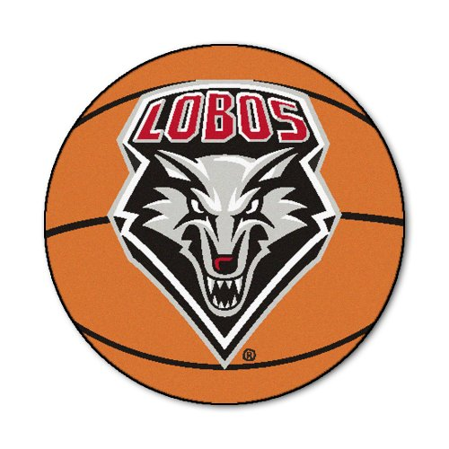New Mexico Basketball Rug (FANMATS NCAA University of New Mexico Lobos Nylon Face Basketball Rug)